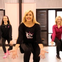 Dancing queen: Newman plays key role in Dancing For Our Future Stars event