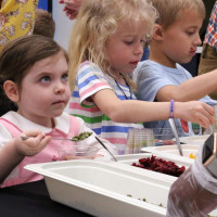 Cooking With Kids gives students a chance to try new foods